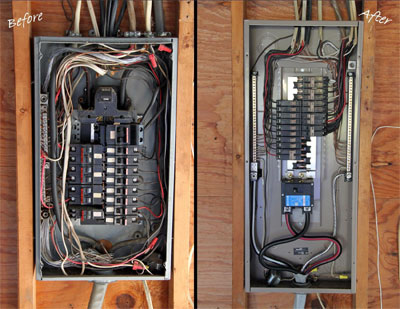 Electrical panel monmouth county electric service for What is the standard electrical service for residential